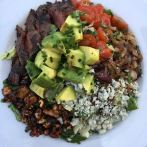 Gluten-free Cobb salad from Pitfire Pizza