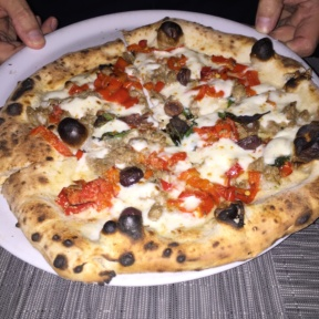 White Gluten-free pizza PizzArte