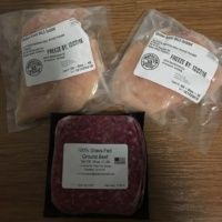 Gluten-free beef and chicken from Plaid Cow Society