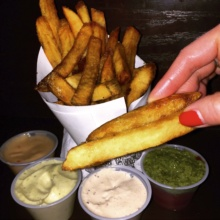 Gluten-free fries from Pommes Frites