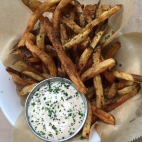 Gluten-free fries from Pono Burger