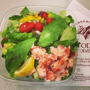 Gluten-free lobster salad from Pret a Manger