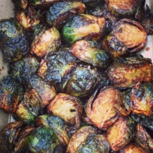 Gluten-free brussels sprouts from Randolph Beer