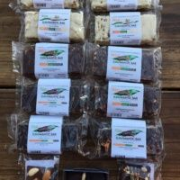Gluten-free paleo chocolate bars from Rawmantic Chocolate