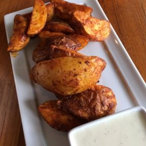Gluten-free potatoes from Real Food Daily