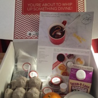 A box to make gluten-free desserts from Red Velvet NYC