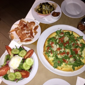 Gluten-free pizza and appetizers from Ribalta