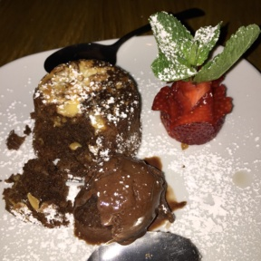 Gluten-free chocolate cake from Ribalta
