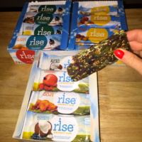 3 types of gluten-free bars from Rise Bar