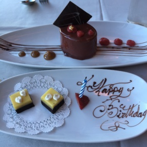 Gluten-free birthday desserts from Robert