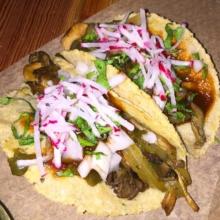 Gluten-free tacos from Rosie's