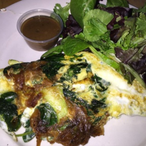 Gluten-free omelette from Rosie