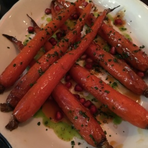 Gluten-free carrots from Rotisserie Georgette