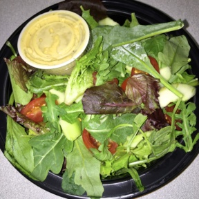 Gluten-free salad from Route 66 Smokehouse
