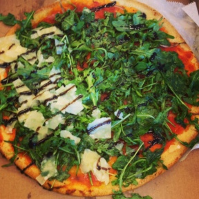 Gluten-free pizza from Rubirosa