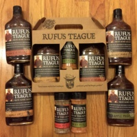 Gluten-free BBQ sauces from Rufus Teague