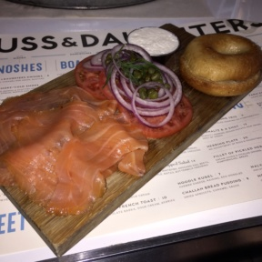 Gluten-free smoked salmon spread from Russ & Daughters