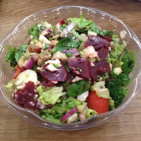 Gluten-free salad from SUNAC Natural Market