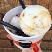 Gluten-free ice cream from Salt and Straw