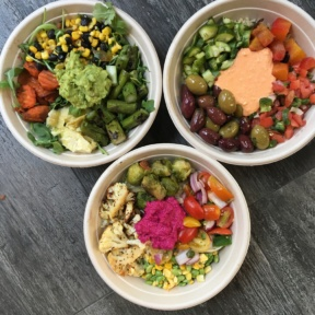 3 Gluten-free bowls from Sandwicherie