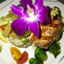 Gluten-free salmon from Santa Barbara FisHouse