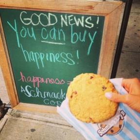 Gluten-free corn cookie from Schmackary's