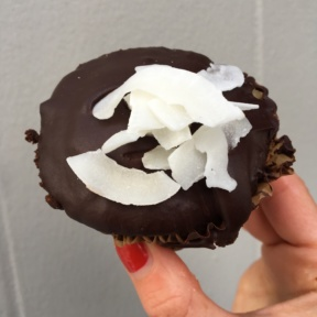 Gluten-free cupcake from Seed & Salt