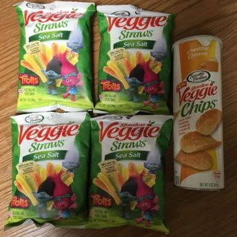Gluten-free veggie chips from Sensible Portions
