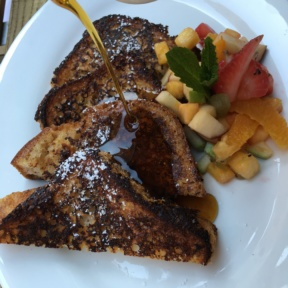 Gluten-free French toast from Senza Gluten