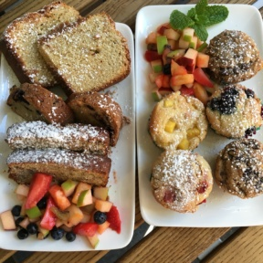 Gluten-free brunch baked goods from Senza Gluten