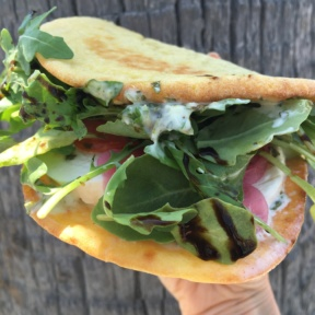 Gluten-free sandwich from Sessions West Coast Deli