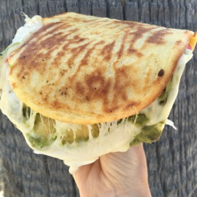 Gluten-free grilled cheese from Sessions West Coast Deli