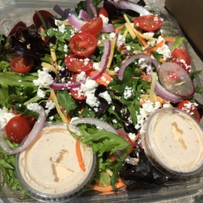 Gluten-free salad from Sessions West Coast Deli