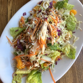 Gluten-free chicken salad from Sharky's Mexican Grill