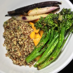 Gluten-free veggie bowl from Shay and Ivy