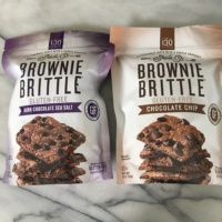 Gluten free brownie brittle from Sheila G's Brownie Brittle