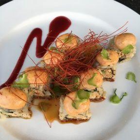 Gluten-free vegan roll from Shojin