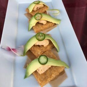 Gluten-free vegan sushi from Shojin