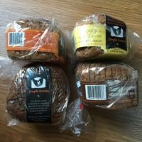 4 loaves of gluten-free bread from Simple Kneads