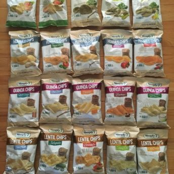 Gluten-free chips from Simply 7 Snacks