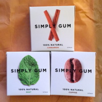 Gluten-free natural gum by Simply Gum