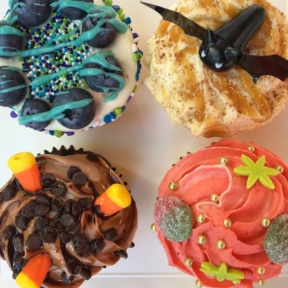 Four Gluten-free cupcakes from Sin City Cupcakes