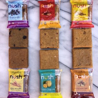 Gluten-free low-sugar cakes from Nush Foods