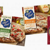 Gluten-free pizza from Smart Flour Foods