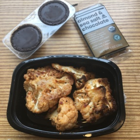 Gluten-free cauliflower and chocolate from Snap Kitchen