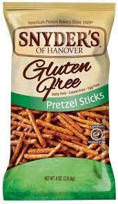 Gluten-free pretzels from Snyder's of Hanover
