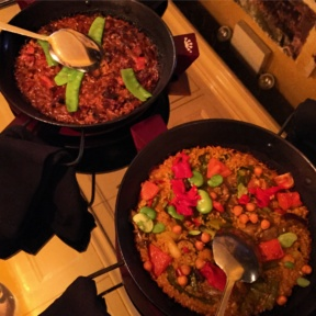 2 Gluten-free paellas from Socarrat
