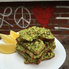 Stack of Gluten-free avocado toast Springbone Kitchen