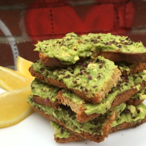 Gluten-free avocado toast from Springbone Kitchen