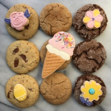 Pretty gluten-free cookies from Stacy's Cookie Lounge